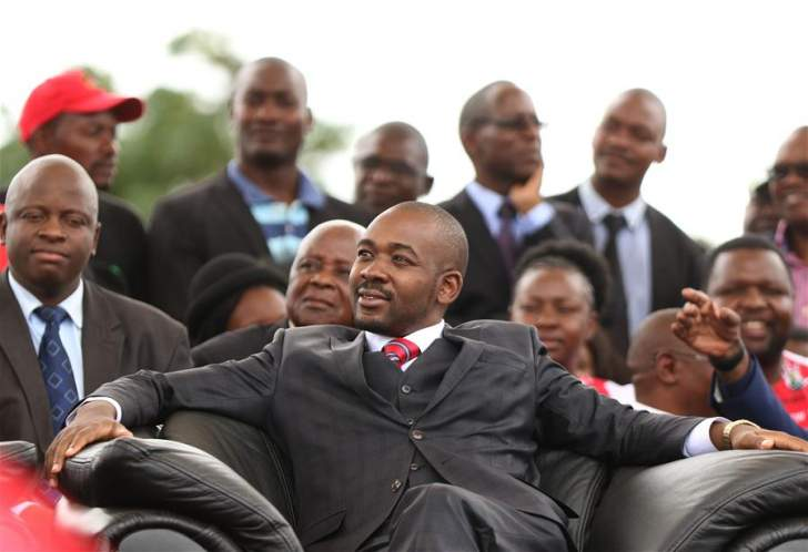 The undertaker of the MDC as we know it: Nelson Chamisa