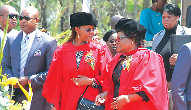 Grace Mugabe's PhD: It's not over until it's over