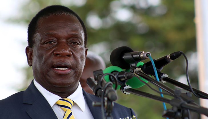 Mnangagwa tells the world he is his own man