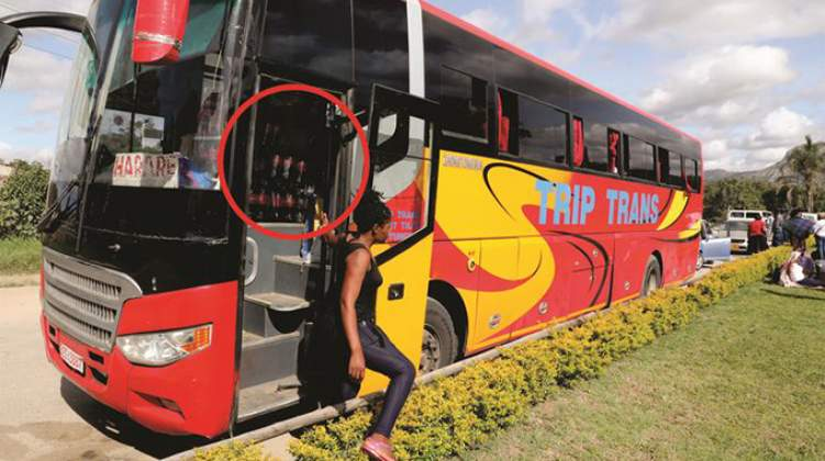 Bus impounded over smuggling