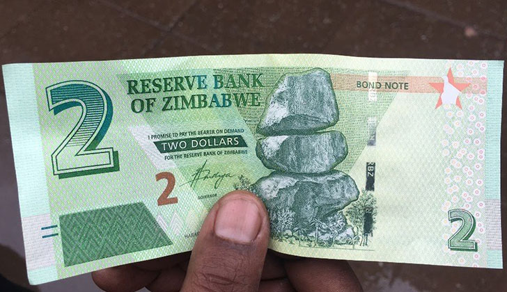 When Reserve Bank Of Zimbabwe Governor John Mangudya Announced In 2016 Plans To Issue Bond Notes A Currency He Claimed Had The Same Value As Us Dollar
