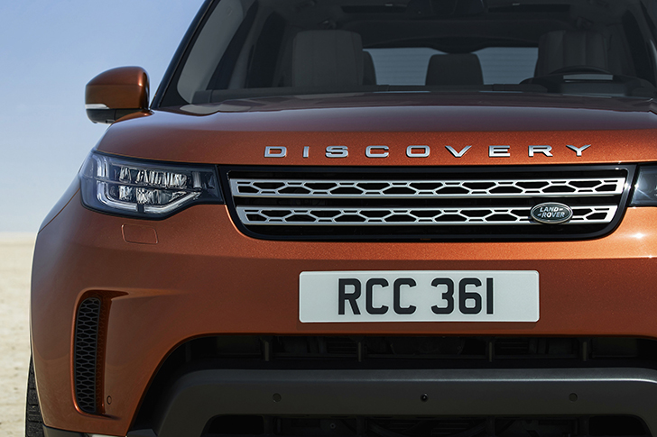 Land Rover Reveals the New Discovery