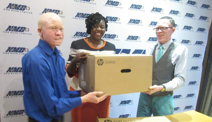 NMB Bank donates to Albino Trust of Zimbabwe