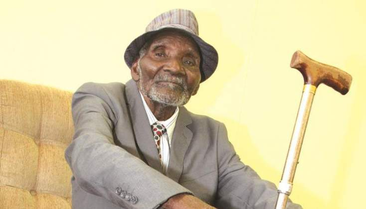 100-year-old man ready to vote in Zim election