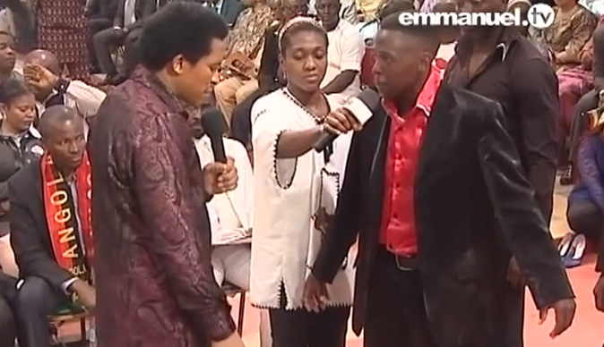 Kissed by the devil - How the 'Lord Of Darkness' met TB Joshua