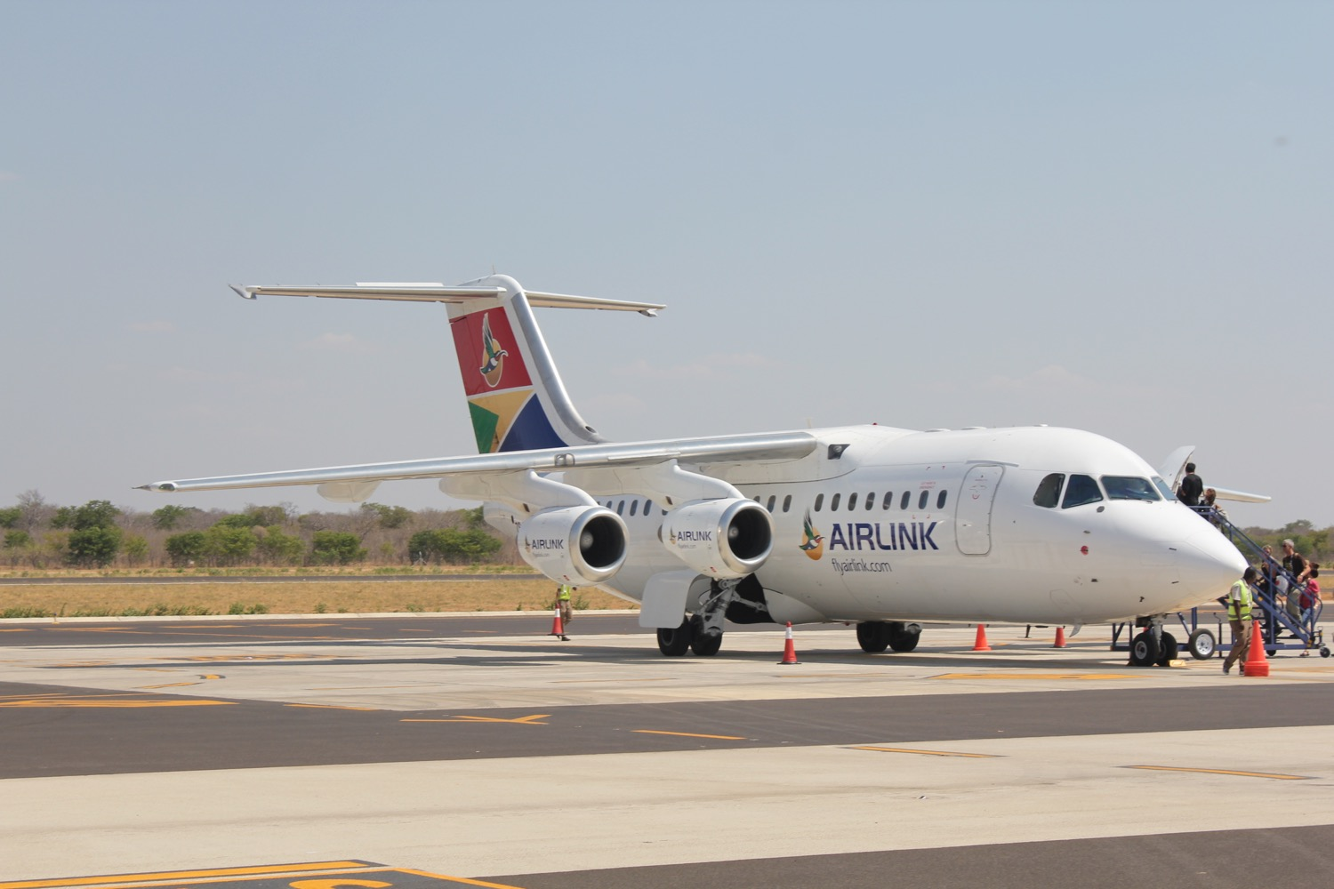 Charter Phone Service >> Cape Town to Victoria Falls Airlink takes to the skies - Bulawayo24 News