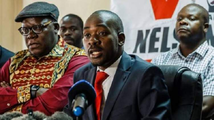 LIVE: MDC address nation on August 16 protest
