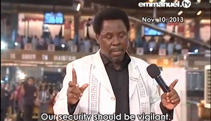 WATCH: TB Joshua gets stranded - Bulawayo24 News