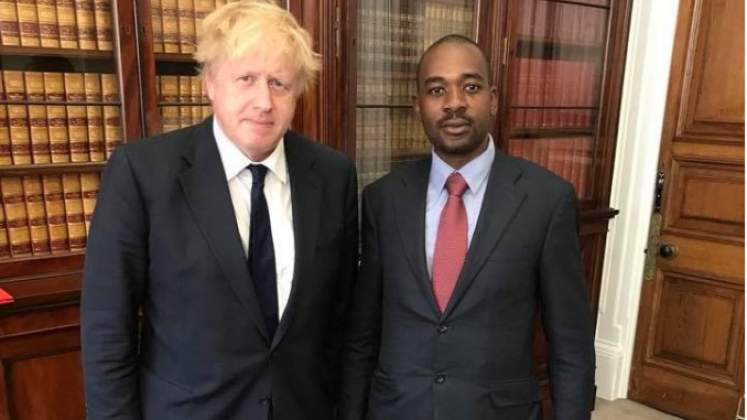 Chamisa, only candidate with chance of ending military rule