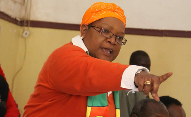 Joice Mujuru speaks out