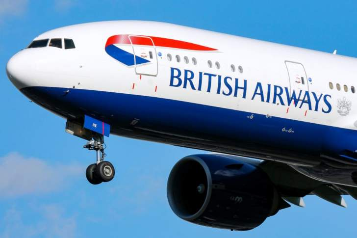 British Airways no longer accepting RTGS payments, only accepting credit cards