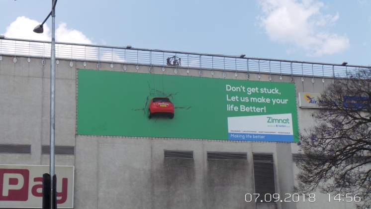 Zimnat launches innovative billboard campaign