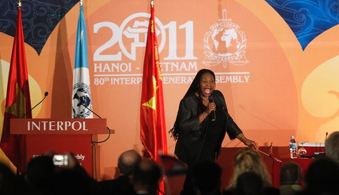 Chaka Chaka receives World Economic Forum's Crystal Award
