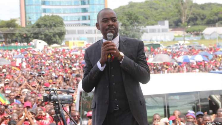 Chamisa mobilises supporters for mass protests