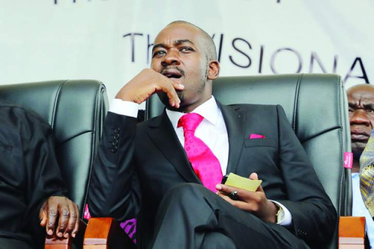 Chamisa demands 'interim govt'