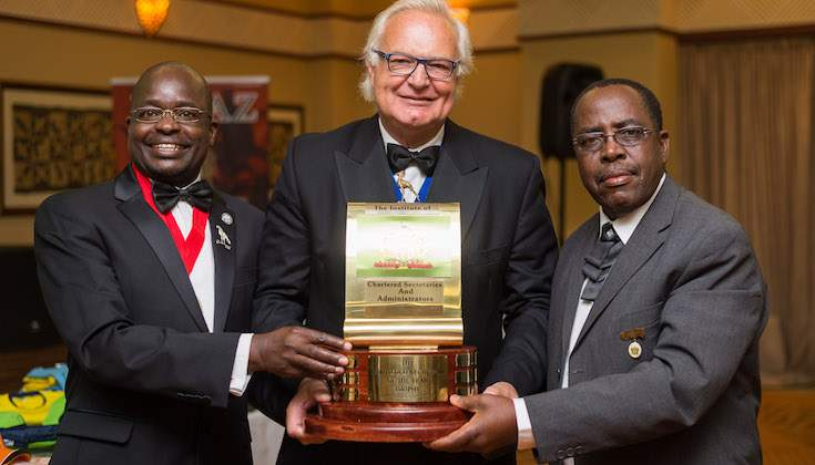 Pascal Mudzikisi declared Chartered Secretary of the Year