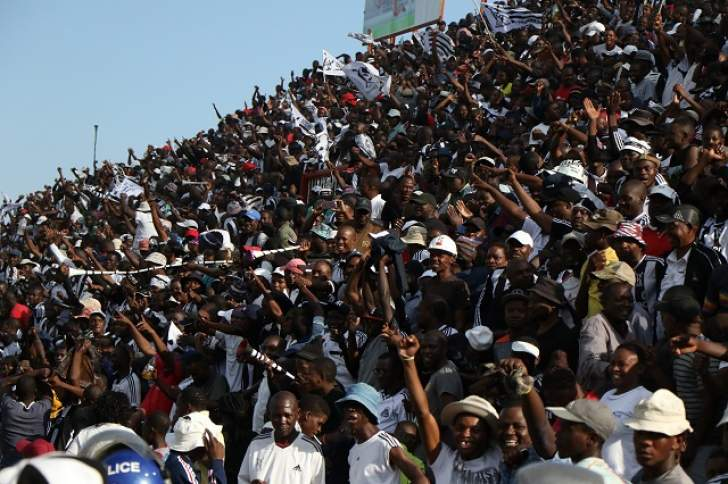 Bosso fan battles for life after falling from terraces