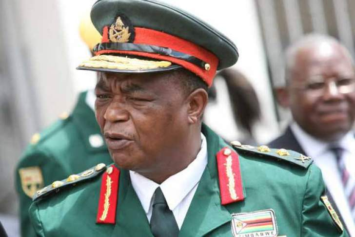 Chiwenga commands political parties to observe peace