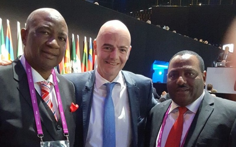FIFA boss comes to Zimbabwe