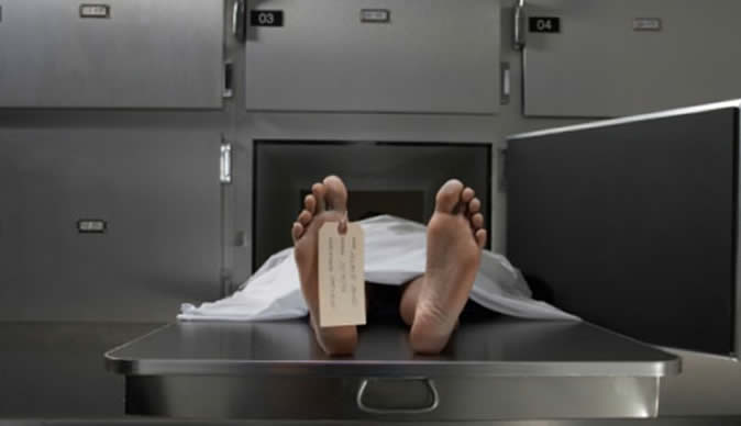 Dead man found alive in a mortuary