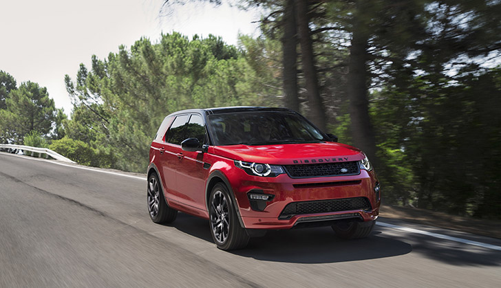 NEW dynamic design for Land Rover Discovery Sport