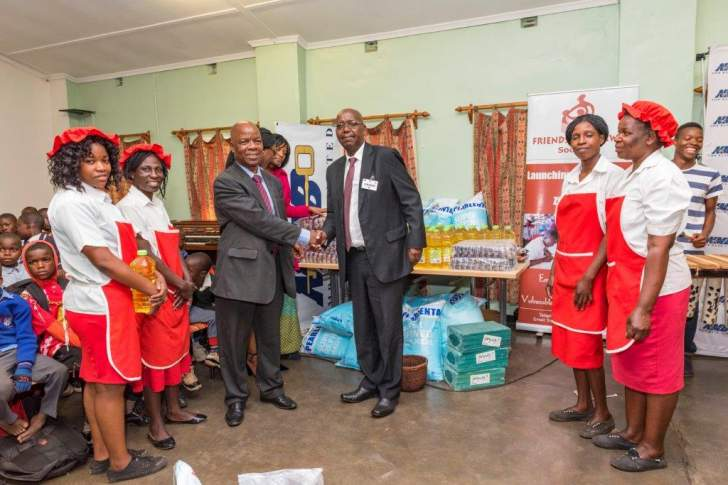 NMB Bank assists orphans in Dzivarasekwa