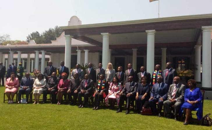 Mnangagwa's Ministers ready to roll