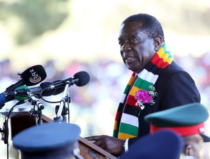 Mnangagwa reopens Eureka Gold Mine