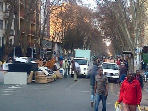 Zimbabweans evicted from 3 Berea flats in SA