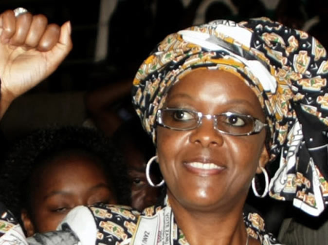 Villagers in trouble for trespassing into a farm grabbed by Grace Mugabe