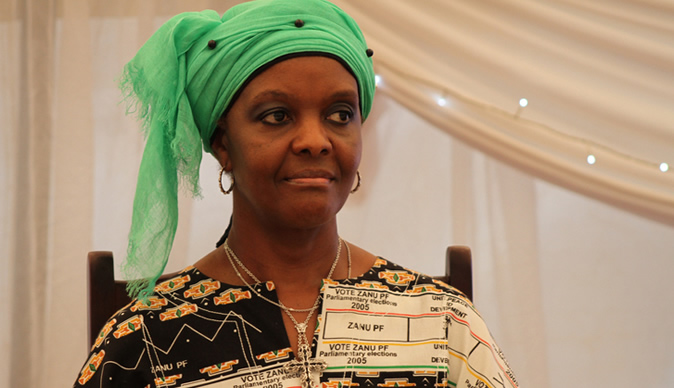 An encounter with Grace Mugabe