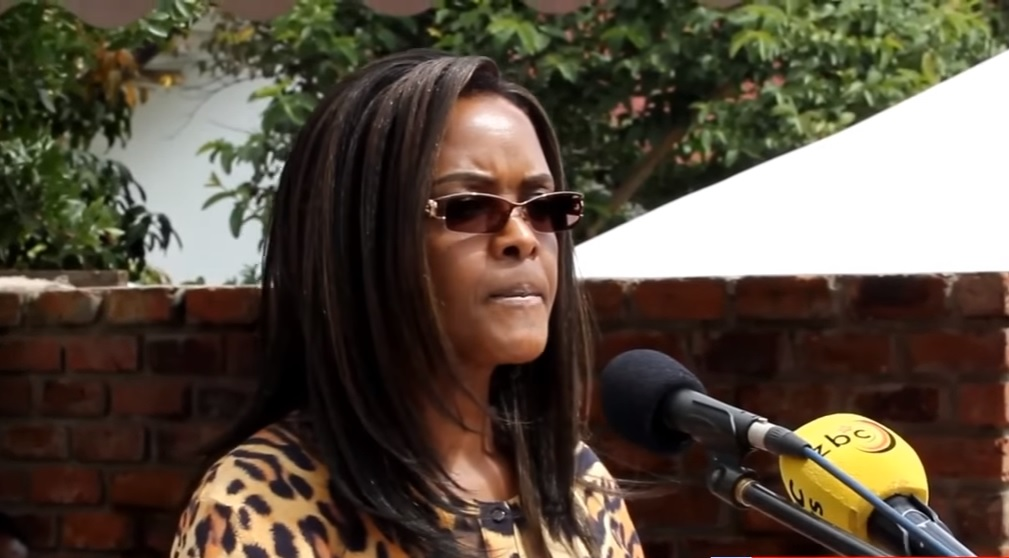 WATCH: Grace Mugabe speaks at Cde Chinx's house handover ...
