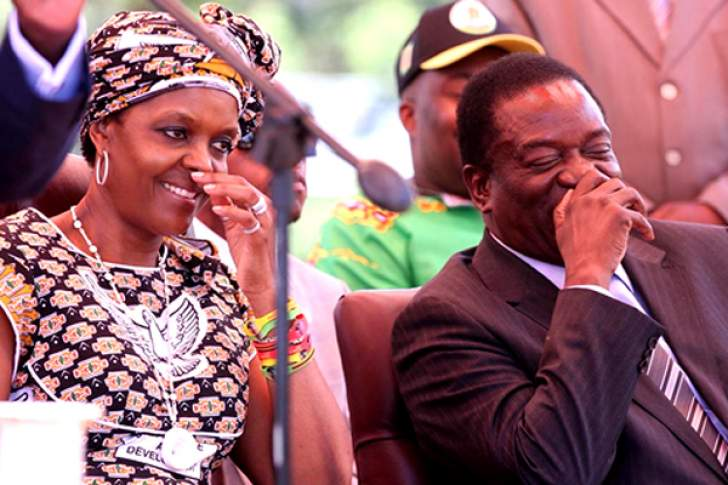 Mnangagwa 'moved' to charter plane for Grace Mugabe but not to save 100 000 babies' lives