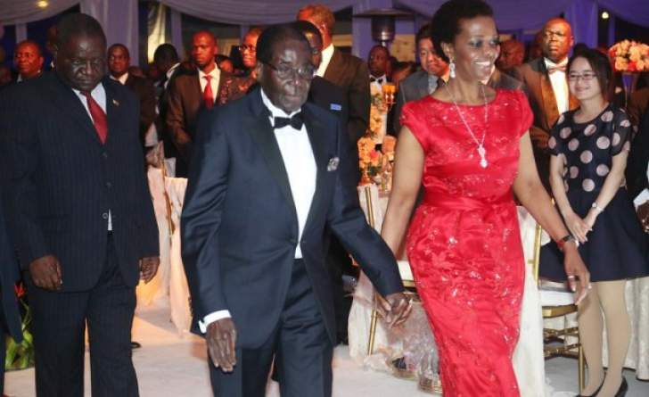 Mnangagwa not invited to Mugabe's private black-tie birthday party