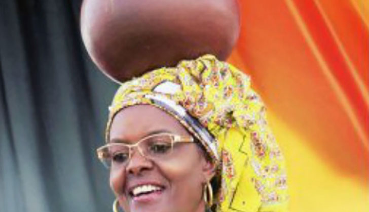 640f46c0192 A MUTARE based journalist been arrested over a report claiming that First  Lady Grace Mugabe donated used underwear to Zanu-PF supporters in the  eastern ...