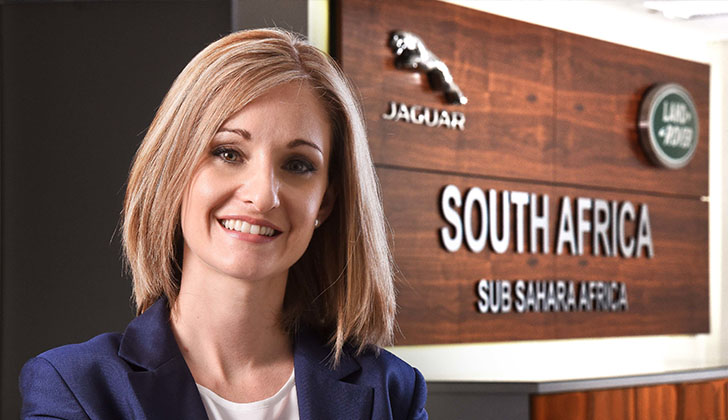 MD of Jaguar Land Rover South Africa, Lisa Mallett, recognised for industry excellence