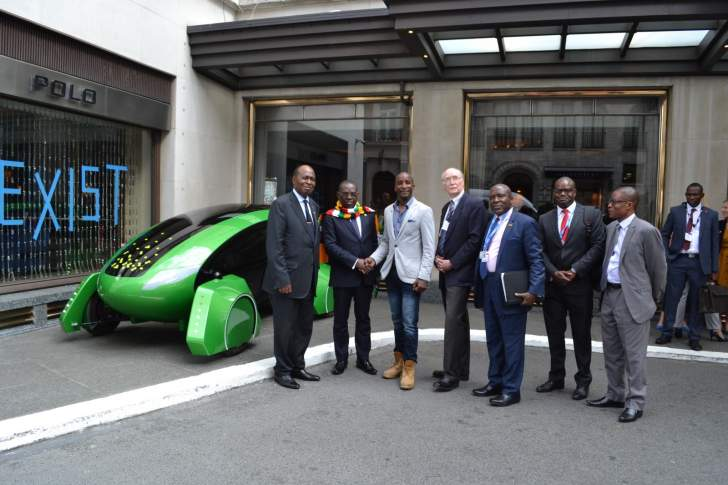 Zimbabwean entrepreneur launches Europe's first autonomous delivery vehicle, Kar-go