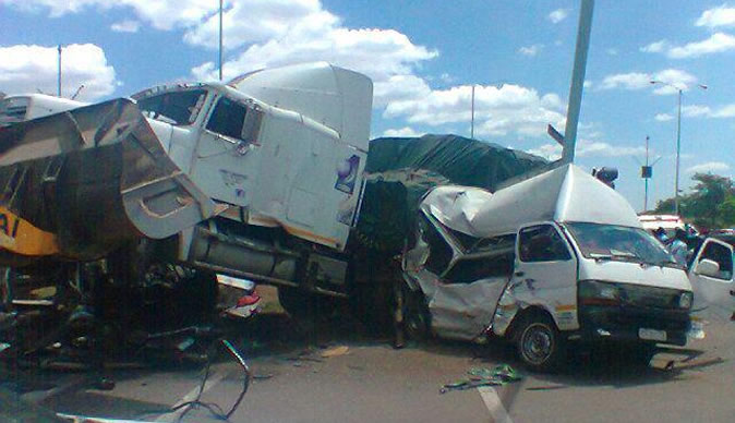 Haulage trucks prove to be dangerous on Zimbabwe roads