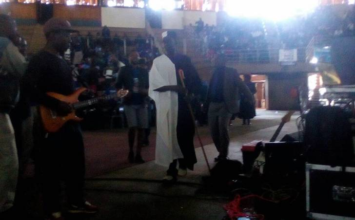 WATCH: Hosiah Chipanga performs for Mujuru