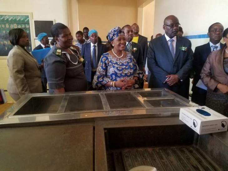 First Lady Launches Ubh Cancer Screening Programme