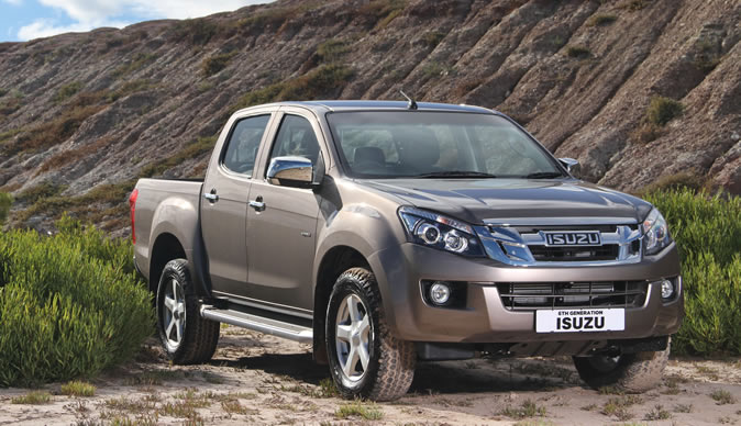 GM unveils the latest Isuzu Dmax pick-up
