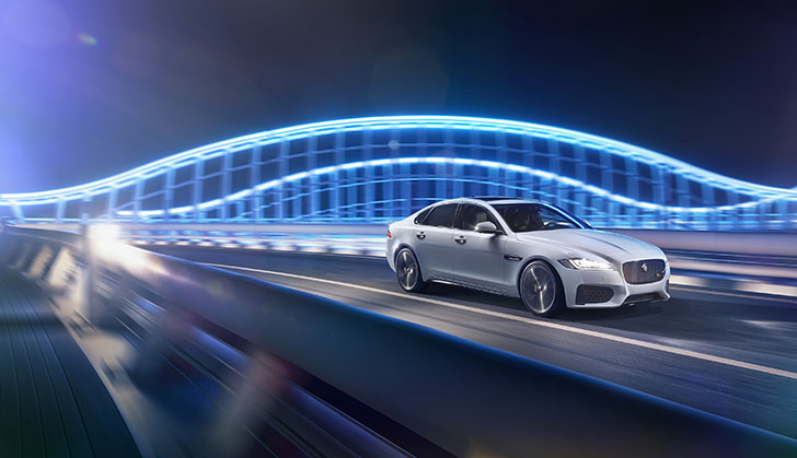 Safety and technology at heart of all-new Jaguar XF