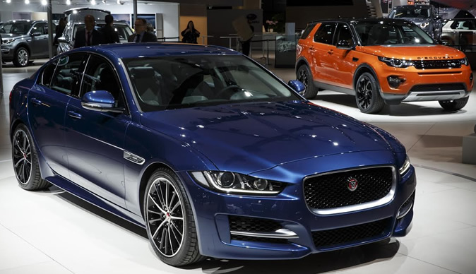 Jaguar Land Rover Takes Over Paris Auto Show with Two Global Debuts