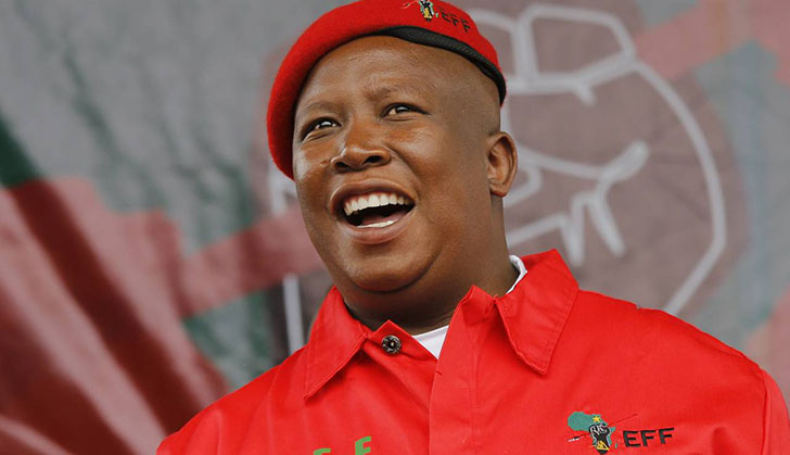 We are not against white people: Malema