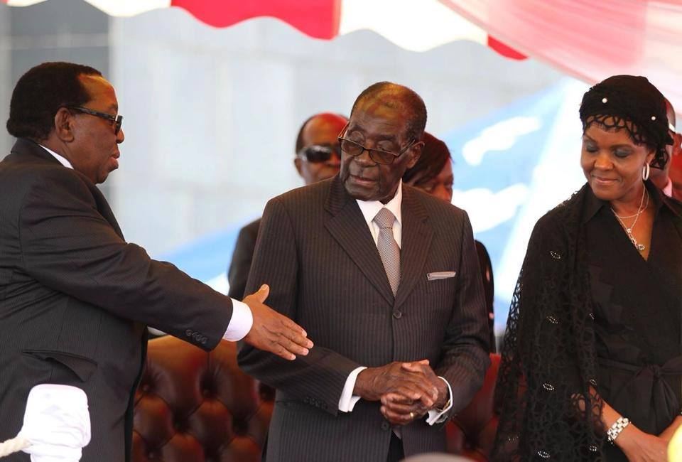 Divisions rock Zanu-PF following a military coup