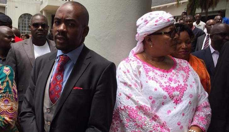 Chamisa favoured by parliament compared to Khupe