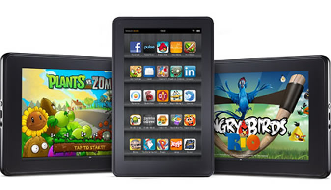 Amazon sells 3.9 million Kindle Fire tablets in 3 months