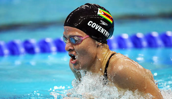Knives out for Kirsty Coventry
