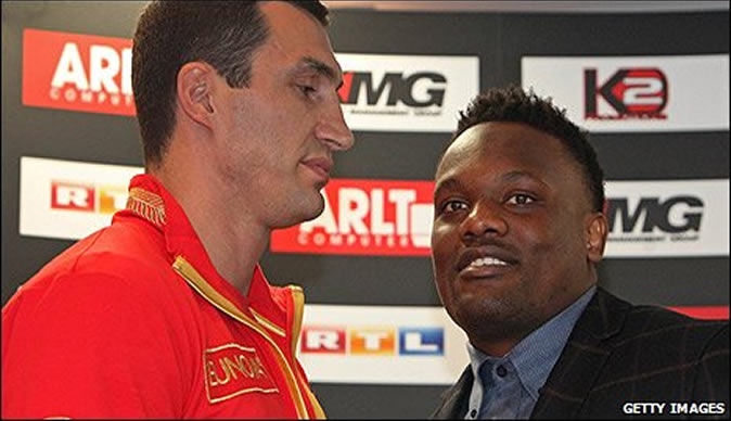 Chisora vows to knock Vitali Klitschko out in 8 rounds