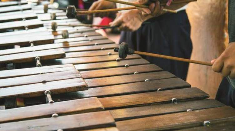 Zimbabwe's marimba ensemble makes history